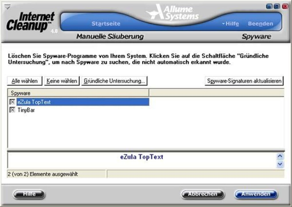 Internet Explorer 8 cleanup Tool