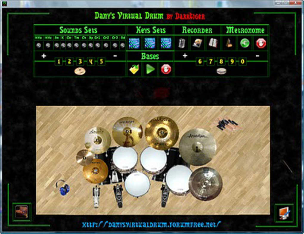 TÉLÉCHARGER DANYS VIRTUAL DRUM 2 GRATUIT GRATUIT