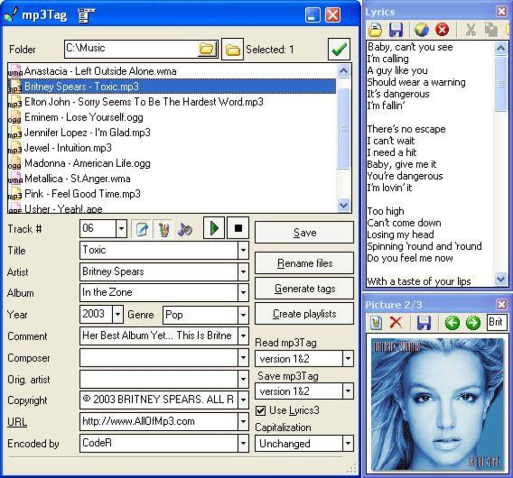 maniactools mp3Tag - Download