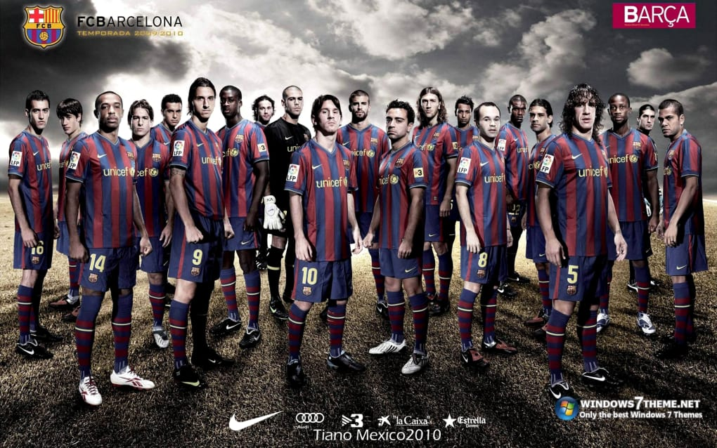 Fc Barcelona Theme Download