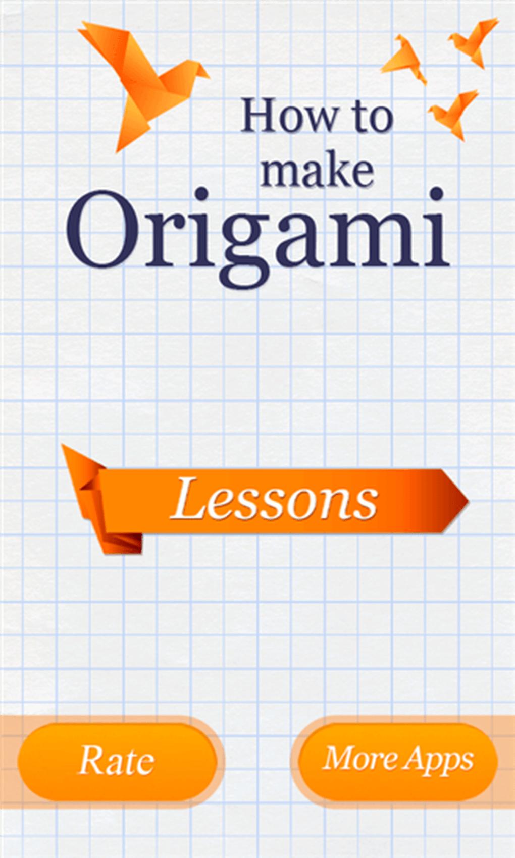 Origami Download 3d Diagram Free 1 3 Screenshots