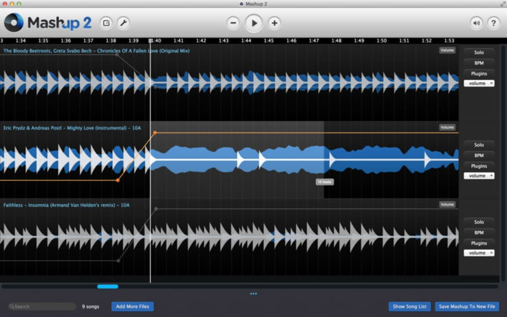 Mixed In Key Mashup for Mac - Download
