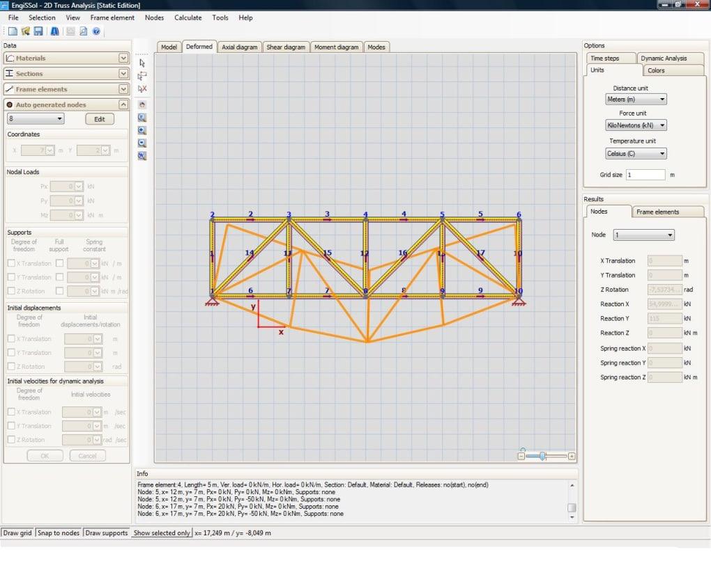 2D Truss Analysis - Download