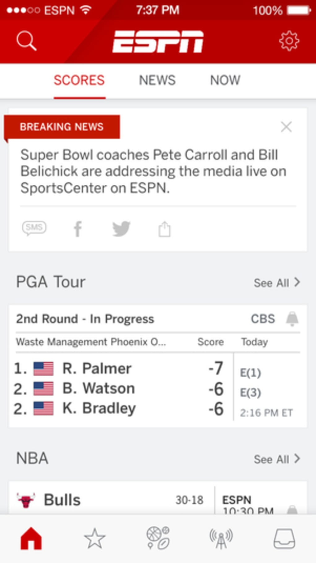 ESPN SportsCenter for iPhone - Download