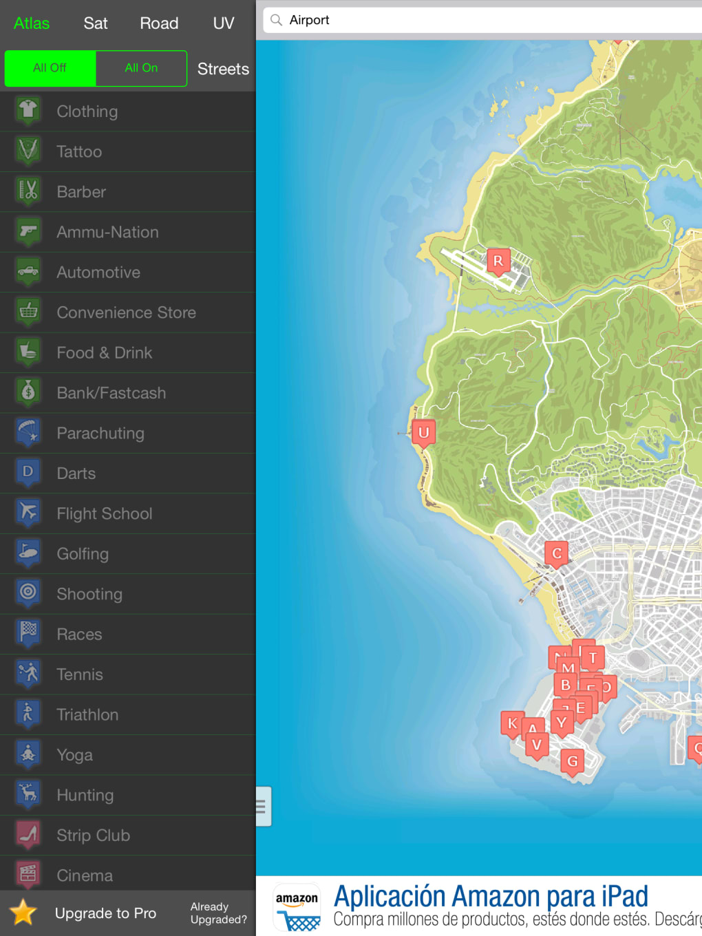 Interactive Map for GTA 5 - Unofficial for iPhone - Download