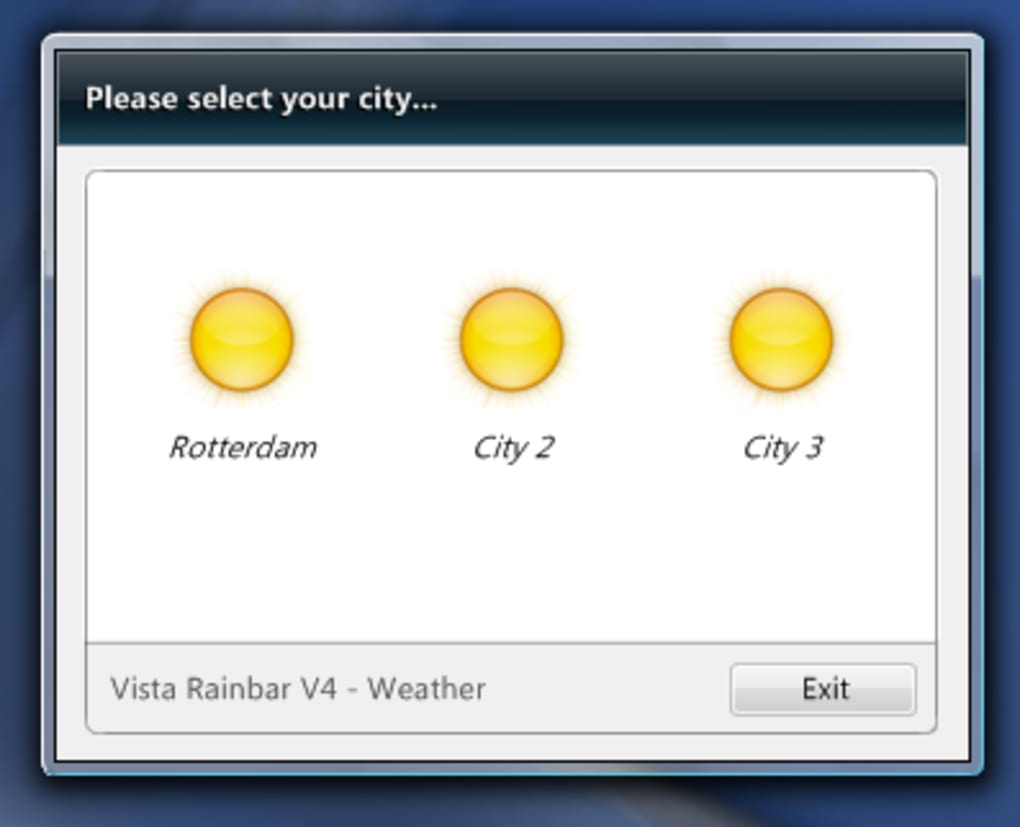 vista rainbar v4.3