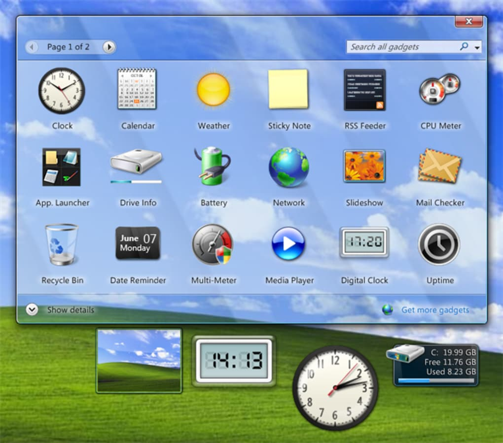 windows 7 rainbar