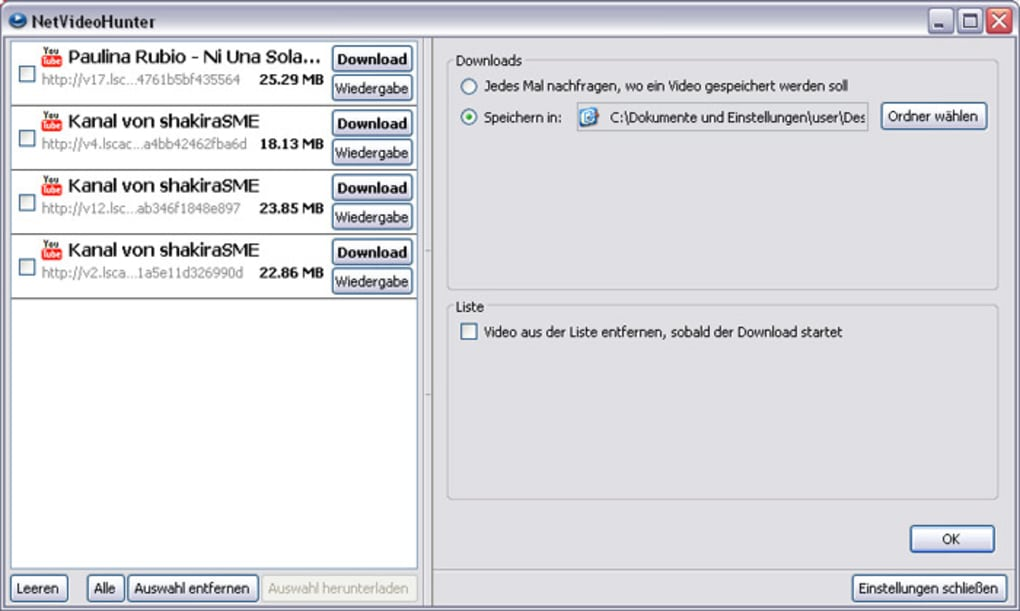 netvideohunter video downloader 1.9.1