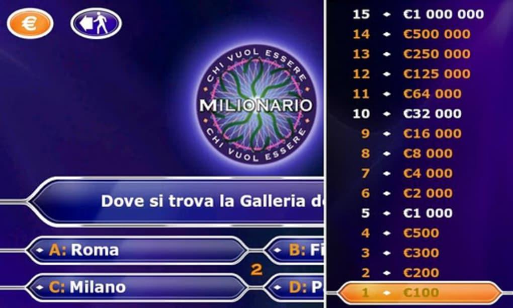 chi vuol essere milionario per pc gratis italiano
