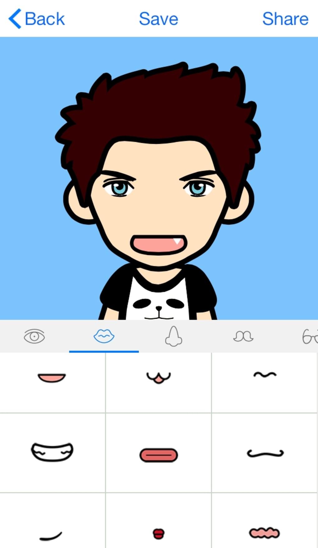 Faceq per iphone download for Crea il tuo avatar arreda le tue stanze