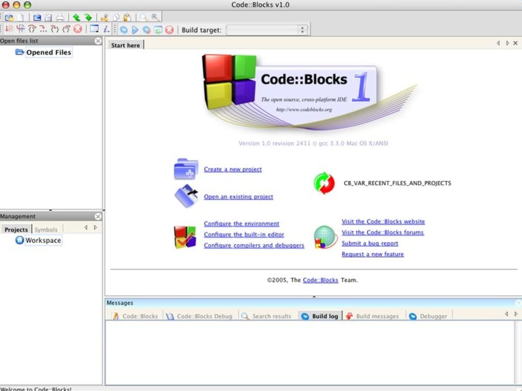 Downloads code blocks.
