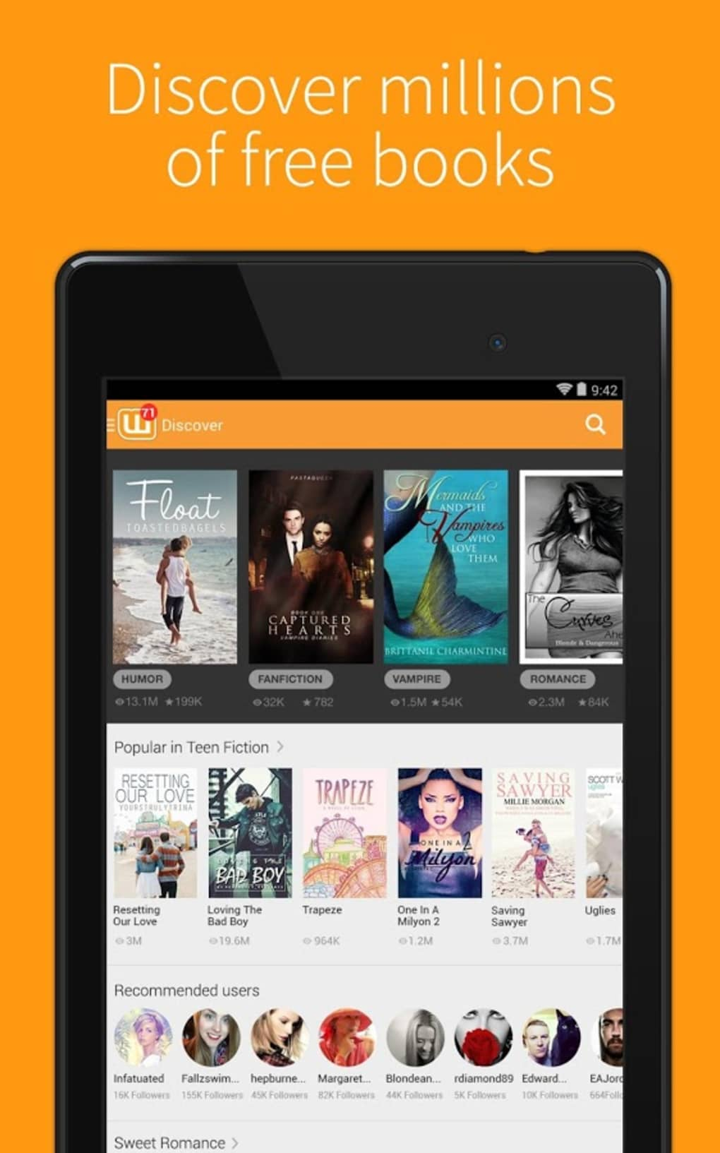 Wattpad for Android - Download