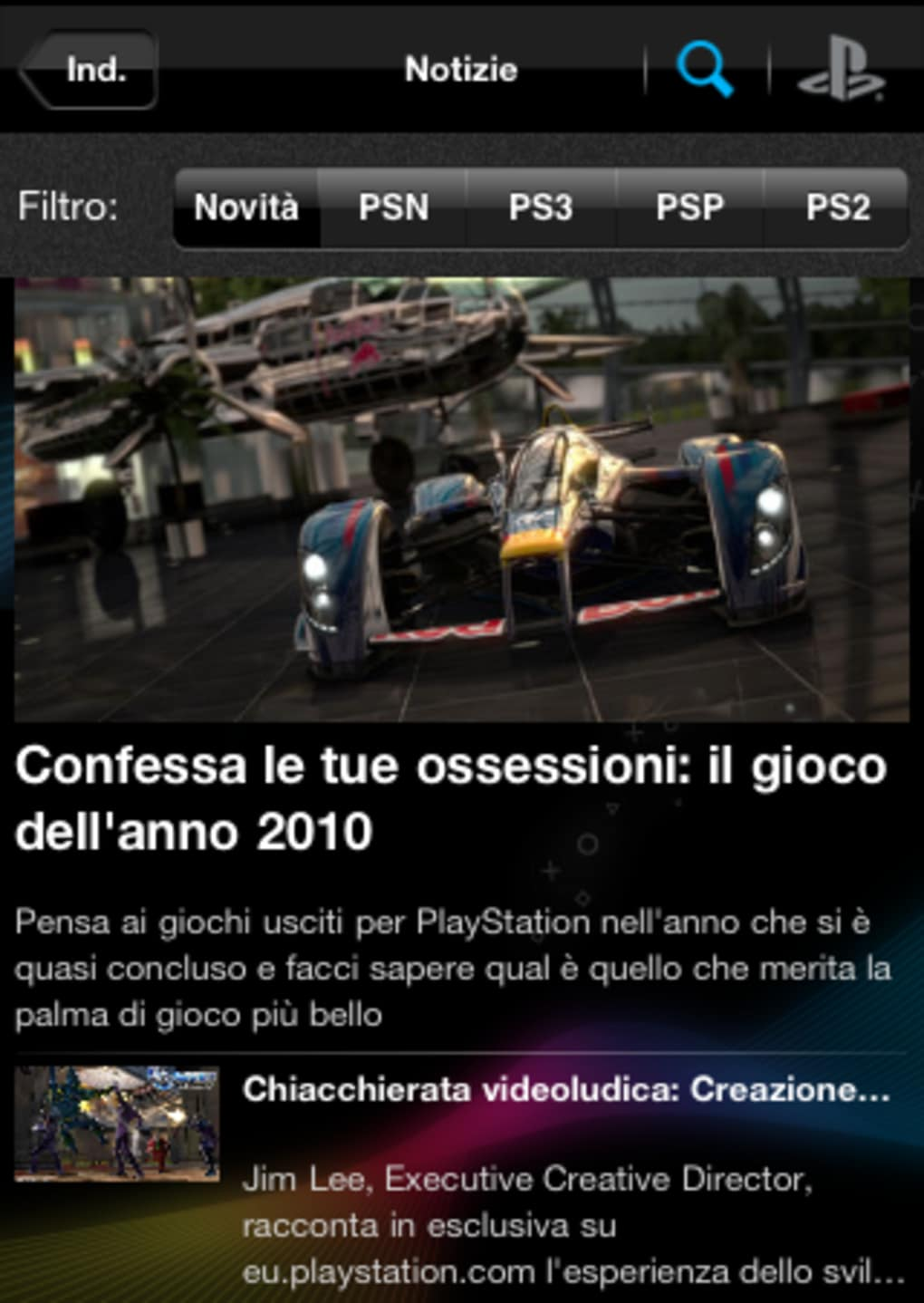 PlayStation App para iPhone - Descargar