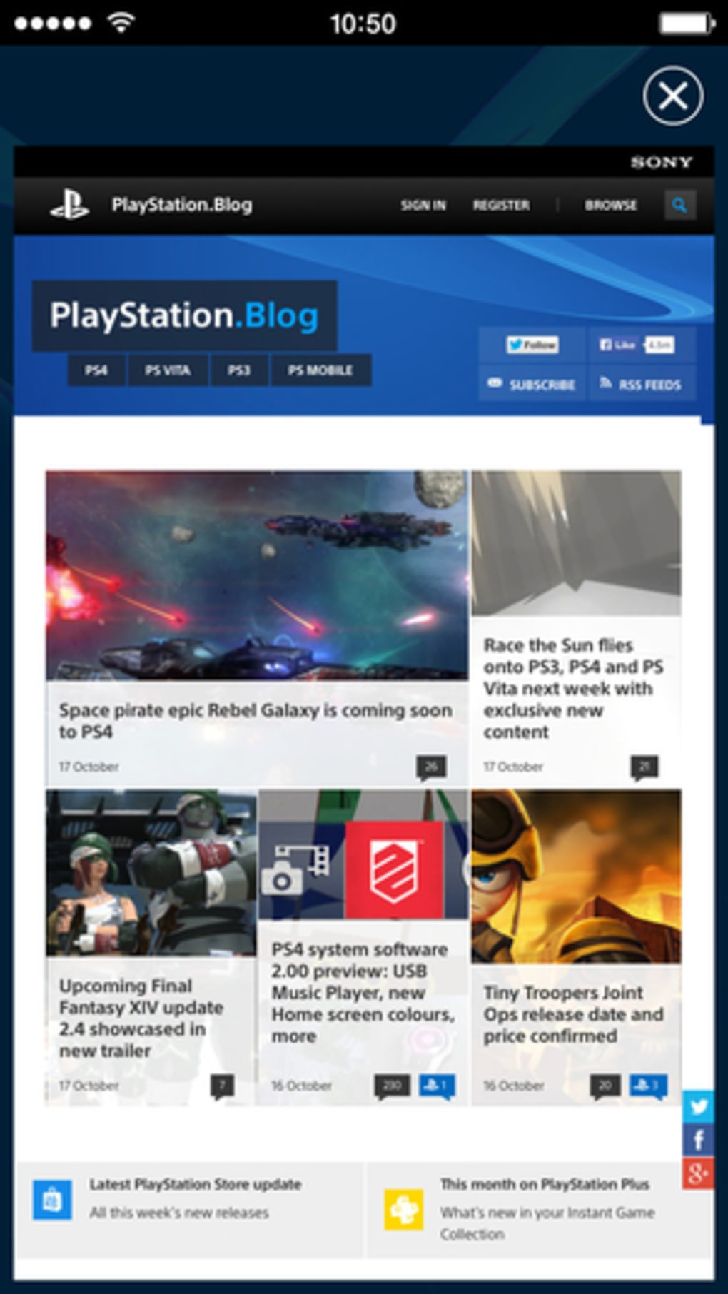 PlayStation App for iPhone - Download