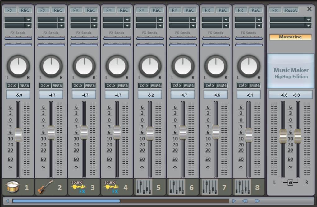 Magix music maker hip-hop edition descargar.