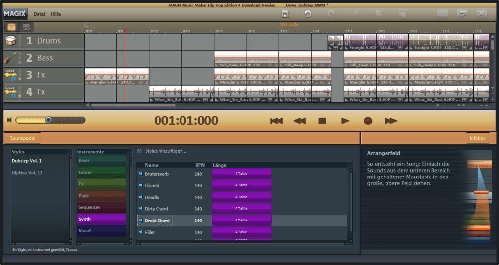 Magix music maker hip-hop edition download.