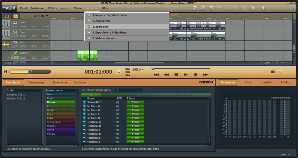 magix music maker hip hop edition free download