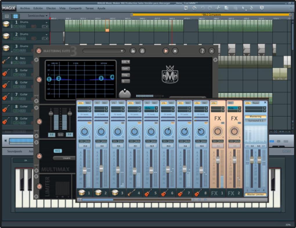free download magix music maker 2014 full version