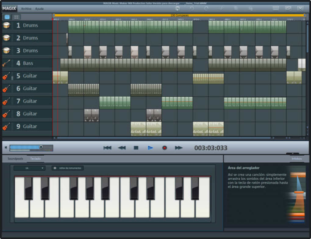 MAGIX Music Maker Production Suite - Download