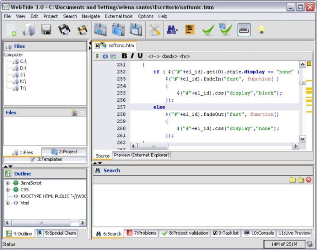 WebTide HTML Editor - Download