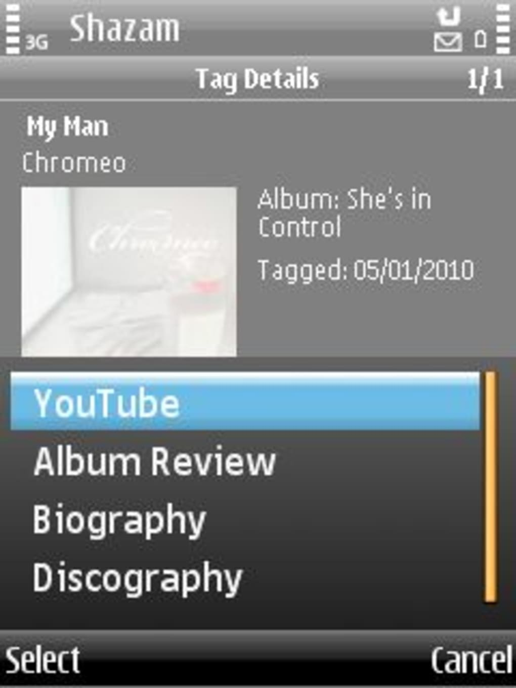 Shazam for symbian download.
