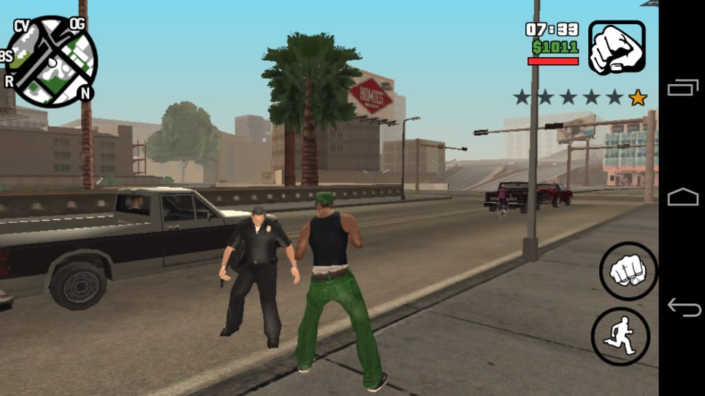Grand theft auto: san andreas for android download.