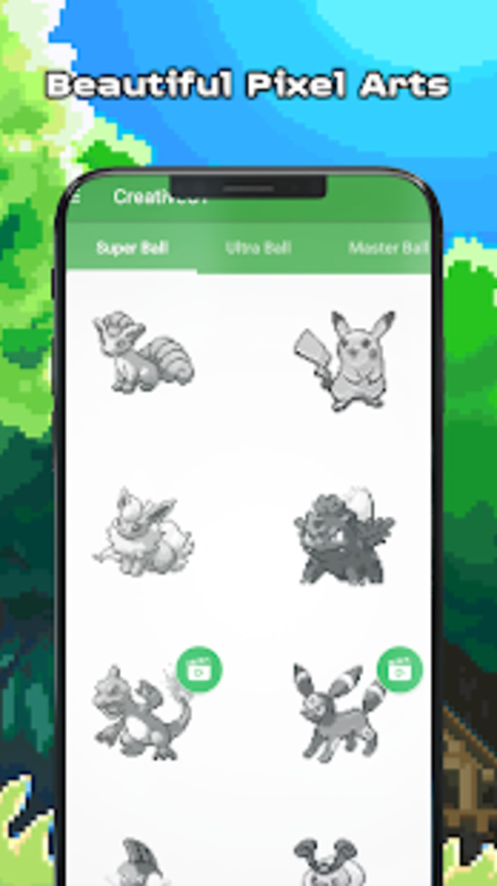 Pokess Color by Number Sandbox Pixel for Android - Download