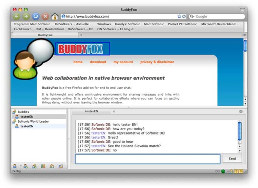 BuddyFox für Mac - Download