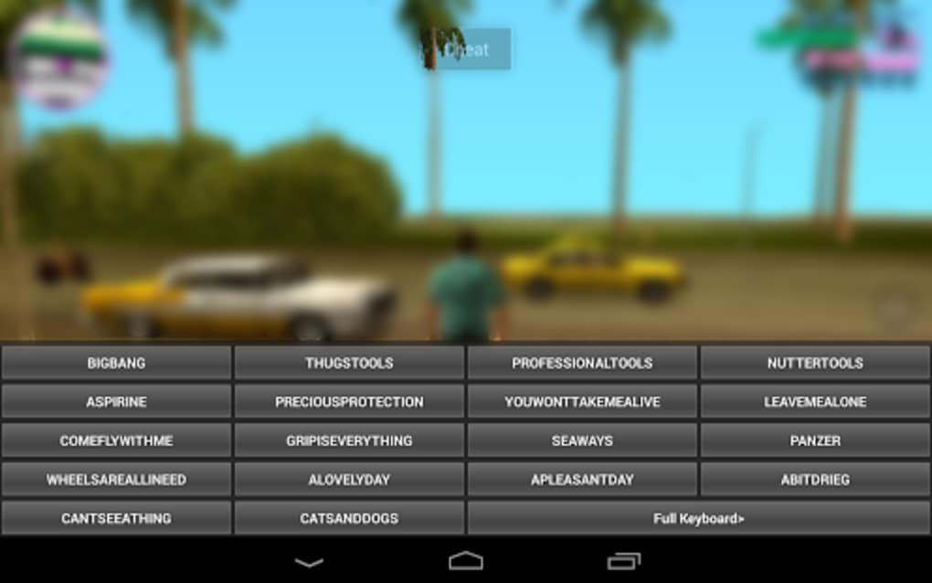 JCheater: Vice City Edition for Android - Download