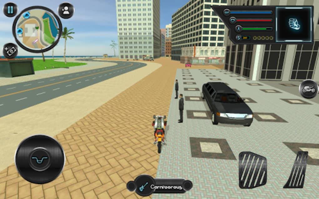 jetpack hero miami crime screenshot