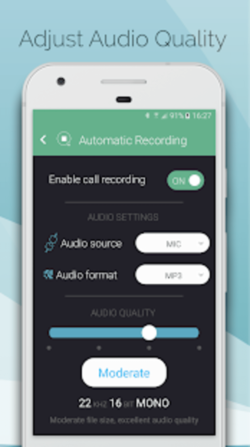 Automatic Call Recorder Hide App Pro callBOX for Android