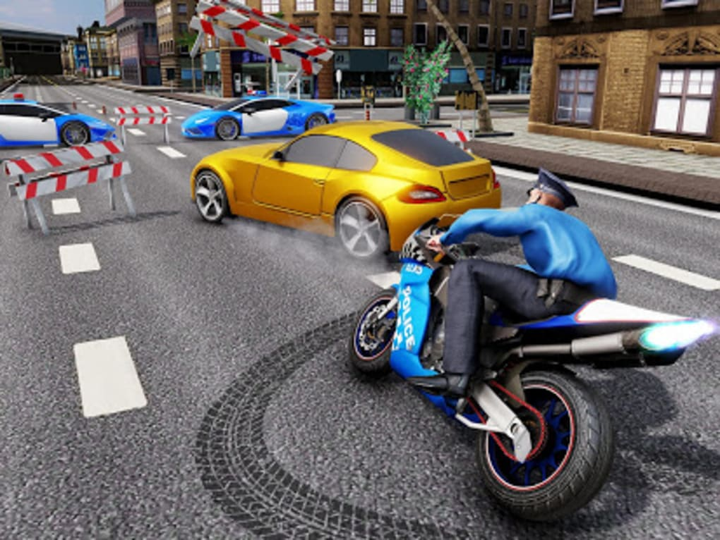 US Police Bike Chase 2019 for Android - Download