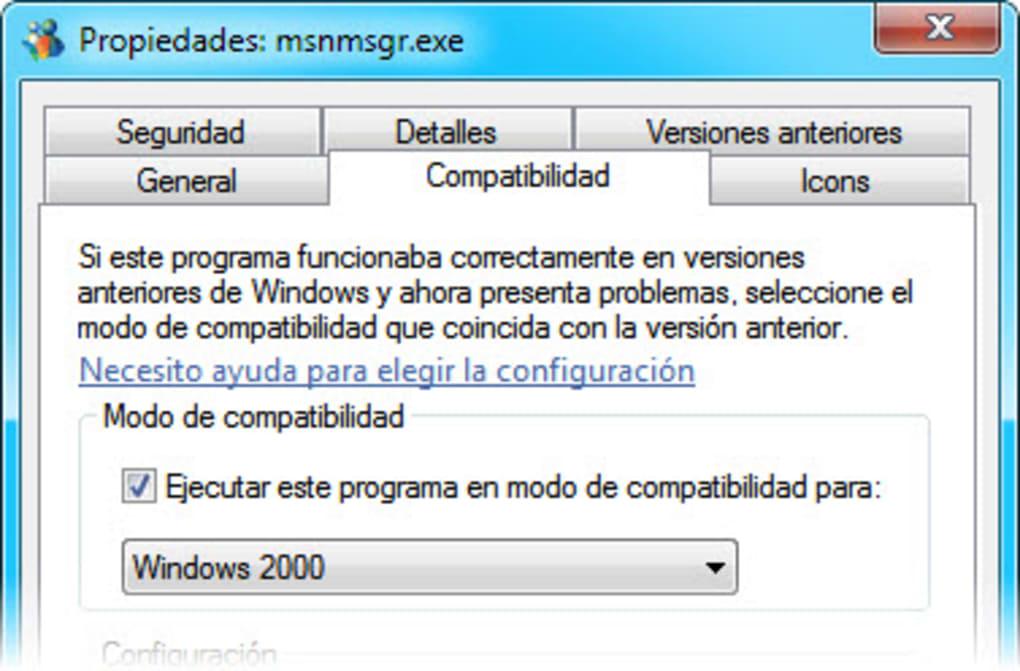 Msn messenger 7. 5. 0324 descargar para pc gratis.