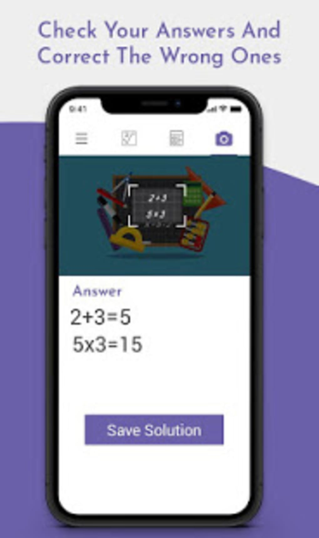 Math Camera Calculator - Math Solver Camera App for Android