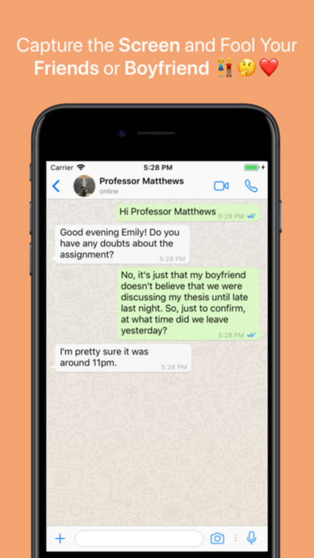 WhatsFake Pro Create Fake Chat for iPhone - Download