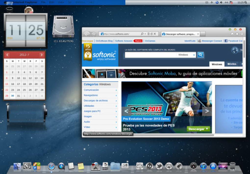 download mountain lion skin pack for windows 7 32bit