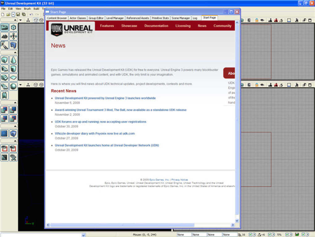 Unreal Development Kit - Download
