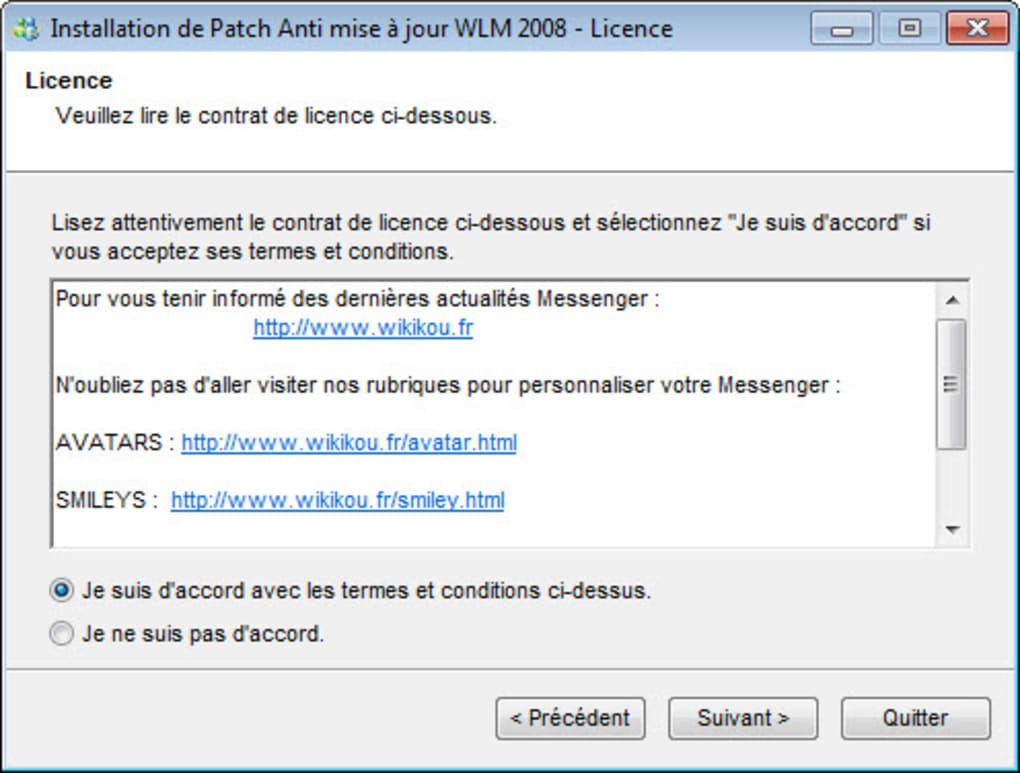 LIVE TÉLÉCHARGER WIKIKOU WINDOWS MESSENGER 2010