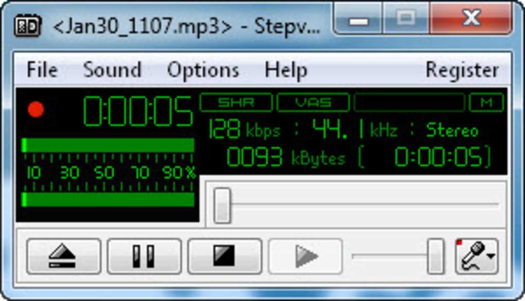 stepvoice recorder gratis