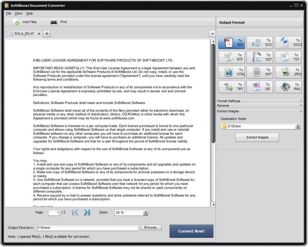 Soft4Boost Document Converter - Download