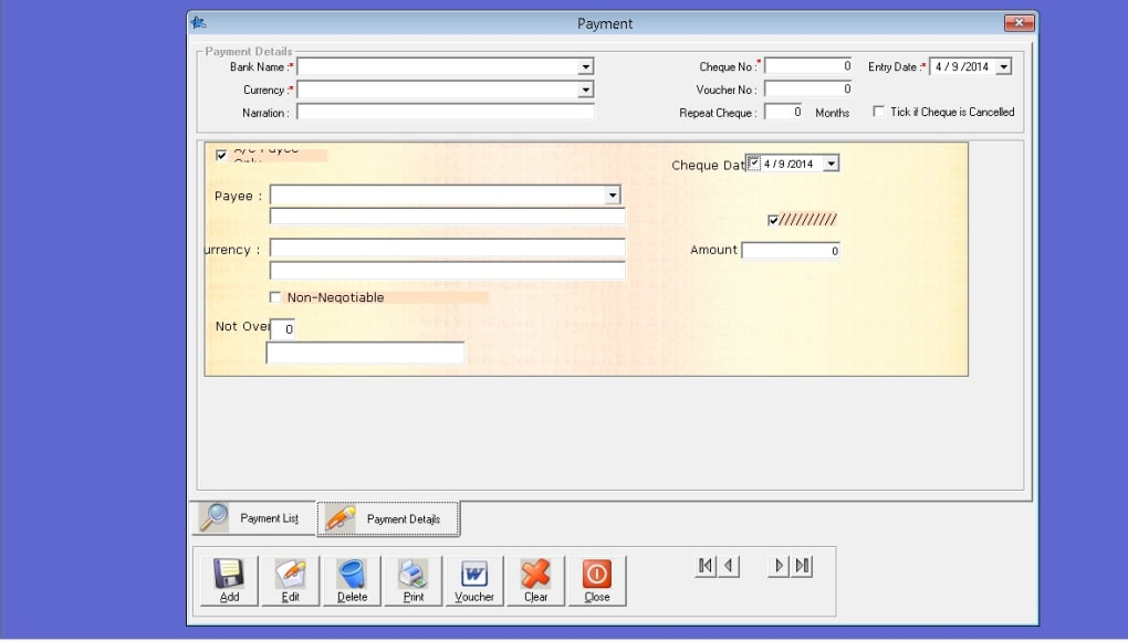free cheque printing software for windows 7