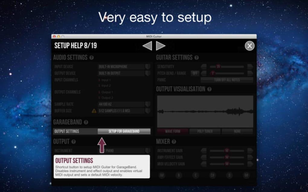 MIDI Guitar for GarageBand for Mac - Download