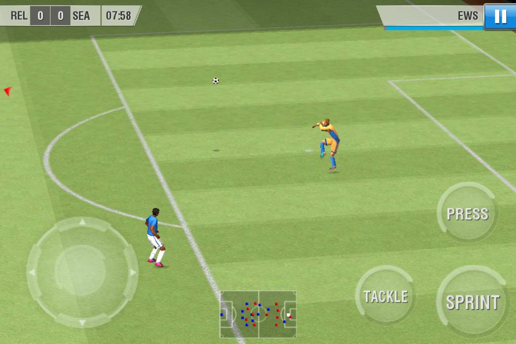 Real football 2012 java game phoneky
