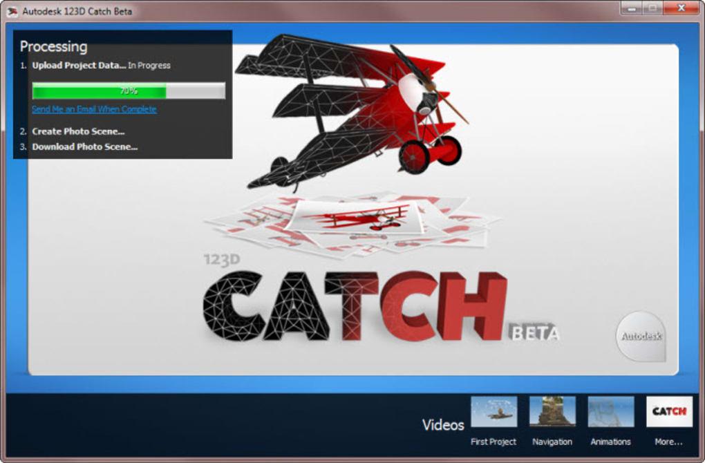 Autodesk 123D Catch - Download