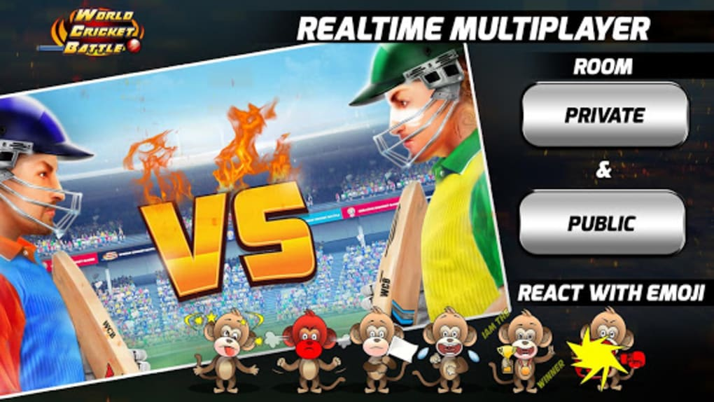 World Cricket Battle - Multiplayer My Career for Android