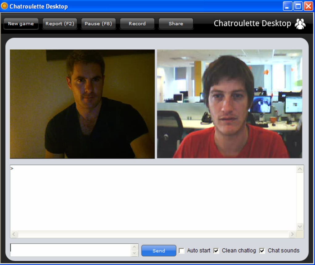 Chatroulette mobile