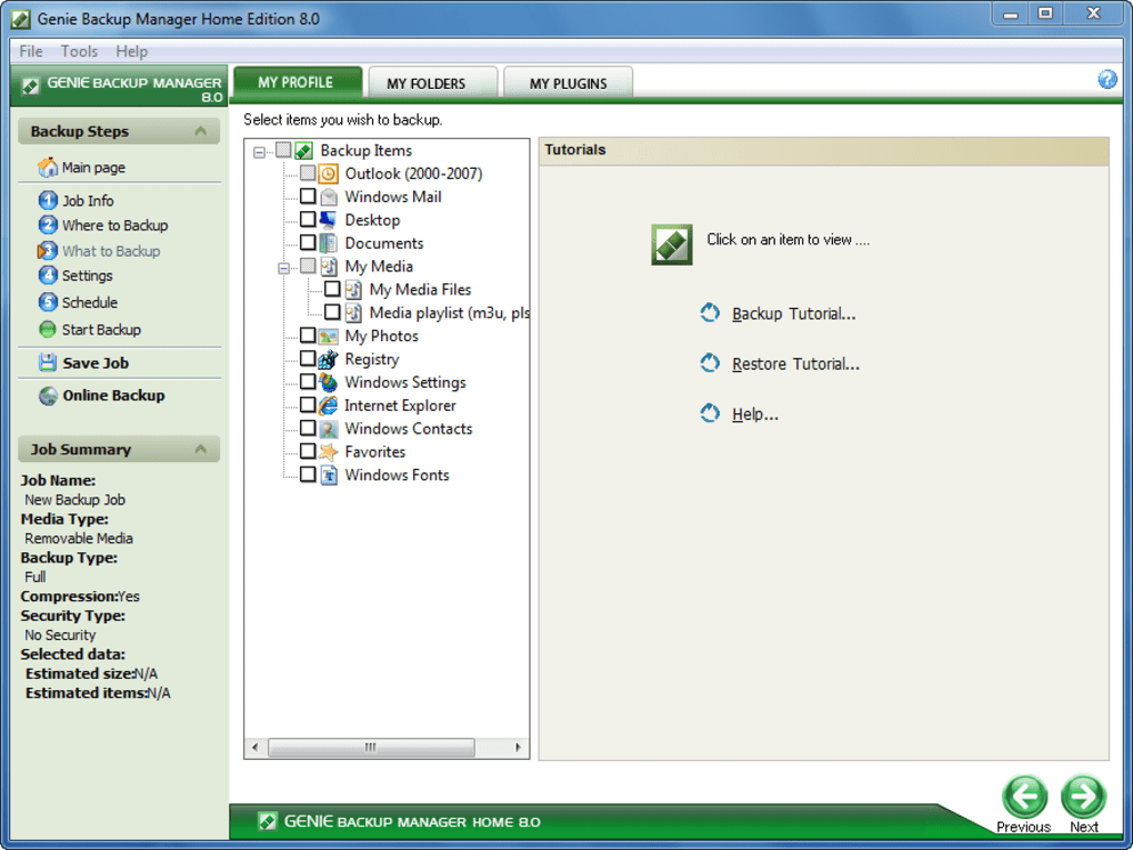 Genie Backup Manager - Download