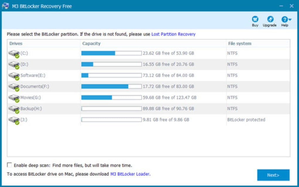 M3 Bitlocker Recovery Free - Download