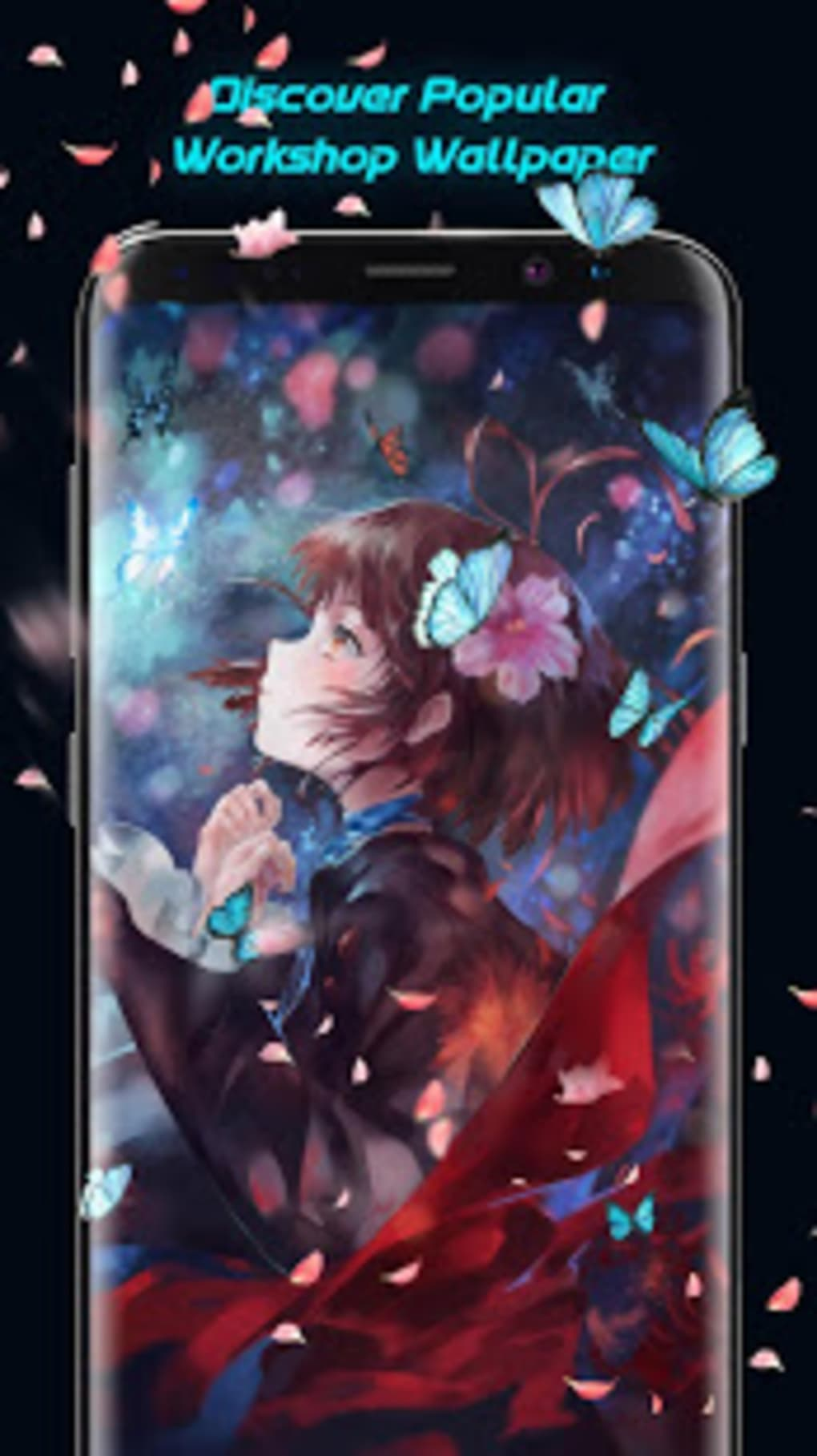 Doki Doki Animotion Anime Hd Live Wallpaper Editor Apk Para