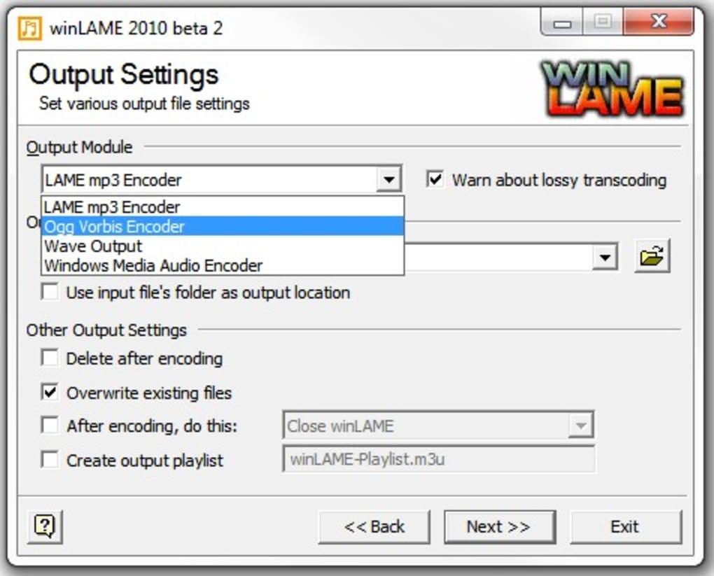 winLAME Portable - Télécharger